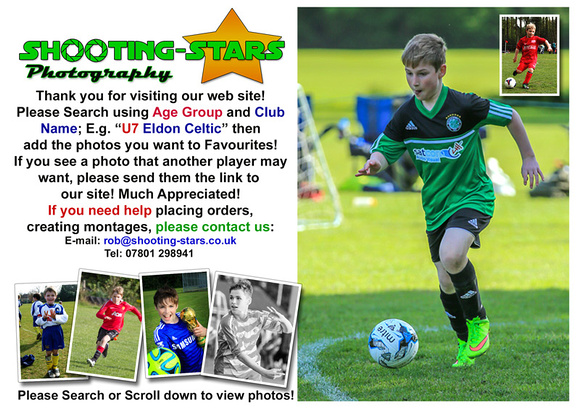 Eldon Celtic Tournament September 2015